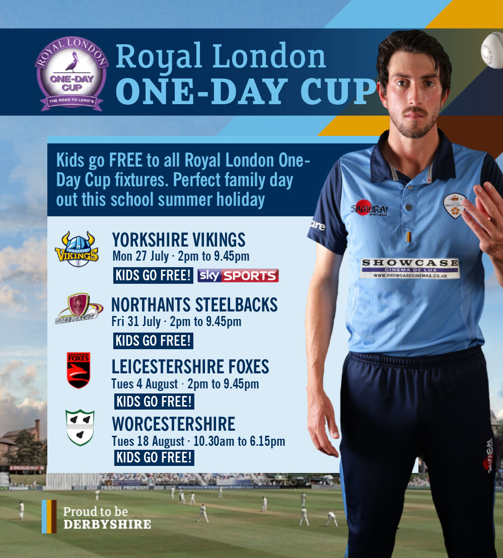 Derbyshire County Cricket Club Natwest T20 Blast